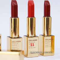 Son môi ThefaceShop-Collagen ampoule lipstick - 11 India Red - Đỏ