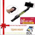 Gậy chụp hình tự sướng yunteng 1288 selfie stick mầu Đen