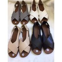Giay sandal quai chéo