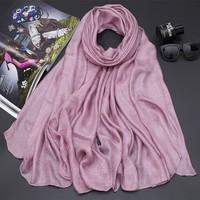 Khăn choàng NGOẠI NHẬP - vải LỤA RIKA