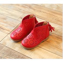 giày boot cho bé gái 1-6 tuổi