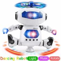 đồ chơi robot - Robot nhảy múa thông minh 360 độ