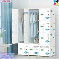 Tủ quần áo nhựa lắp ráp ghép thông minh đa năng 12 ô giá rẻ cá xanh