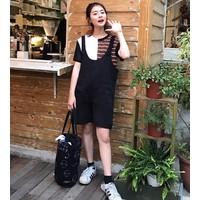 quần short yếm trẻ trung Mã: QN754 - ĐEN