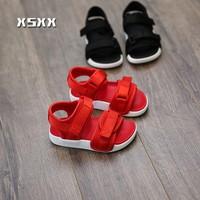 Giày sandal bé trai - gái từ 1-3t đỏ đen style Korea