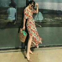 Đầm maxi hoa