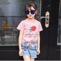 Bộ quần áo hè cho bé gái - RD71165