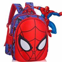 Balo cho bé trai 3D hình người nhện Spider man loại lớn