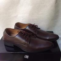Giày tây nam cột dây nâu cho dân văn phòng giá rẻ