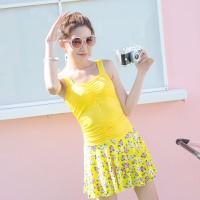 Bộ bikini xinh xắn, đáng yêu BI01 - Màu vàng