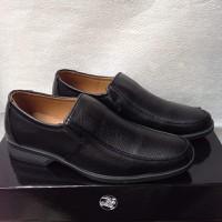 Giày tây nam mũi vuông đế cao màu đen