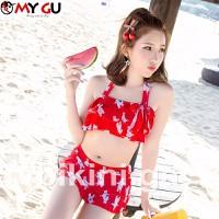 Bộ bikini xinh xắn, đáng yêu BI05 - Màu đỏ