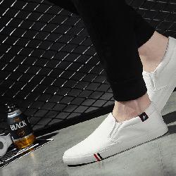 Giày Lười Nam Trắng Hàn Quốc - GL03T