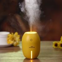 Máy phun sương mini hình quả chanh tích hợp đèn ngủ