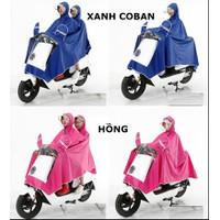 Áo đi mưa đôi cho xe máy