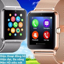 Đồng hồ thông minh Nhật siêu đa năng dây kim loại sang trọng