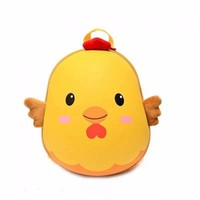 Balo trứng 3D hình con gà màu vàng cho bé