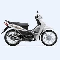 Xe số Honda Wave Alpha 110cc 2017- Trắng đen bạc