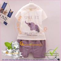 Bộ quần áo mùa hè bé gái - bé trai GLSET015