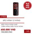 Nokia 5630 nghe nhạc cực đã chính hãng nokia