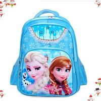 Balô đi học FROZEN công chứa Elsa đáng yêu cho bé gái QSTORE QS62