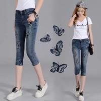 quần jean con bướm