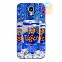 Ốp lưng Samsung Galaxy S4 in hình Beer Tiger