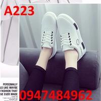 giày lười nữ hàn quốc A223