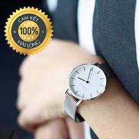 Đồng hồ nữ đẹp giá rẻ WD dây lưới sang trọng