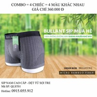 Sip Nam Cao Cấp - Combo 4 chiếc - Dệt từ Sợi Tre