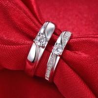 Nhẫn đôi kim cương đẹp 1