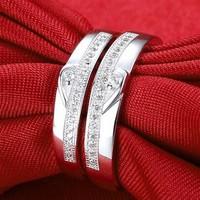 Nhẫn đôi Trái tim đẹp 7