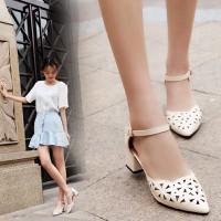 Giày Cao Gót Đế Vuông - 5cm