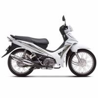 Xe Số Honda Blade 110cc căm thắng đùm - Trắng đen