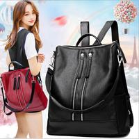 Balo thời trang 2 trong 1 đa phong cách kiểu dáng Hàn Quốc QSTORE QS67