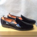 Giày tây nam hàn quốc kiểu tron bóng đen giá rẻ chất lượng