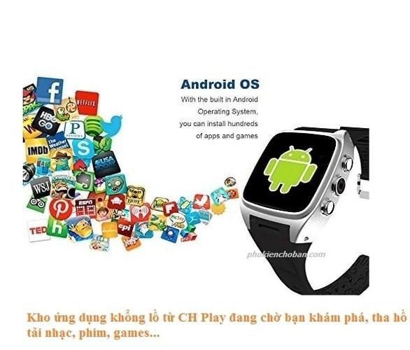 đồng hồ thông minh có CH Play