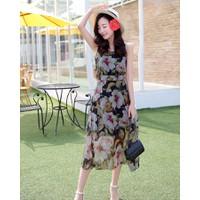 Đầm Maxi Hoa Lan_VD179