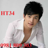 Tóc giả nam Hàn Quốc HT34