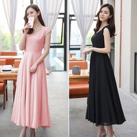 Đầm Maxi Phối Ren_VD149