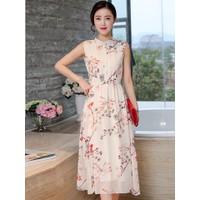 Đầm Maxi Cổ Trụ_VD153