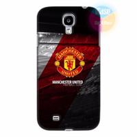 Ốp lưng Samsung Galaxy S4 in hình CLB Manchester United