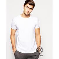 áo phông trơn cotton nam, nữ đẹp giá rẻ Trắng