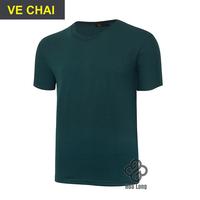 áo thun trơn cotton nam, nữ đẹp giá rẻ Ve Chai
