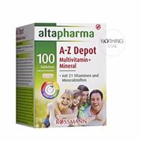 Viên uống Vitamin tổng hợp Altapharma A-Z Depot - Hàng nội địa Đức