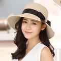 nón nữ nón nữ Nón rộng vành Fedora đi biển cao cấp cho nữ -NVCC2
