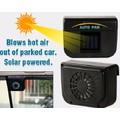Quạt thông gió điều hòa làm mát oto sử dụng năng lượng mặt trời