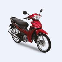 Xe Số Honda Blade 110cc căm thắng đĩa - Đỏ đen