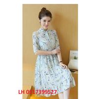 Đầm xòe váy xòe Hàn Quốc mới Váy xòe Hàn Quốc mới L12DV146