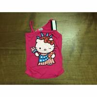 Áo thun kiểu in hình mèo kitty bé gái